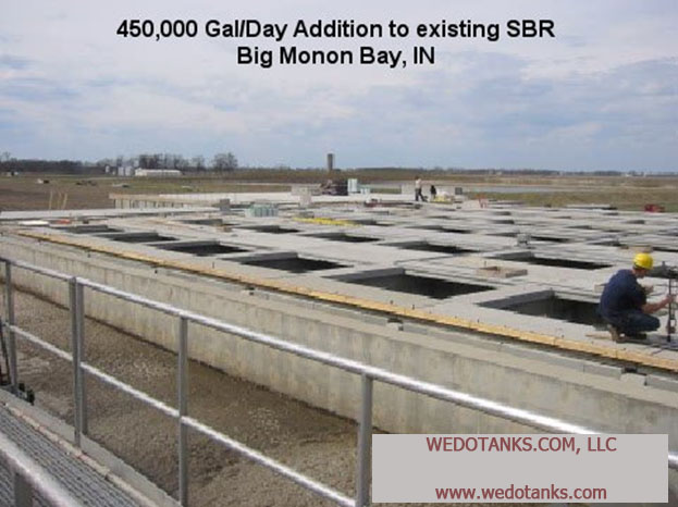 Big Monon Bay, Indiana Wastewater Treatment Project.