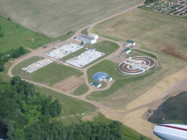 Turkey Store Barron, Wisconsin Wastewater Treatment Project.